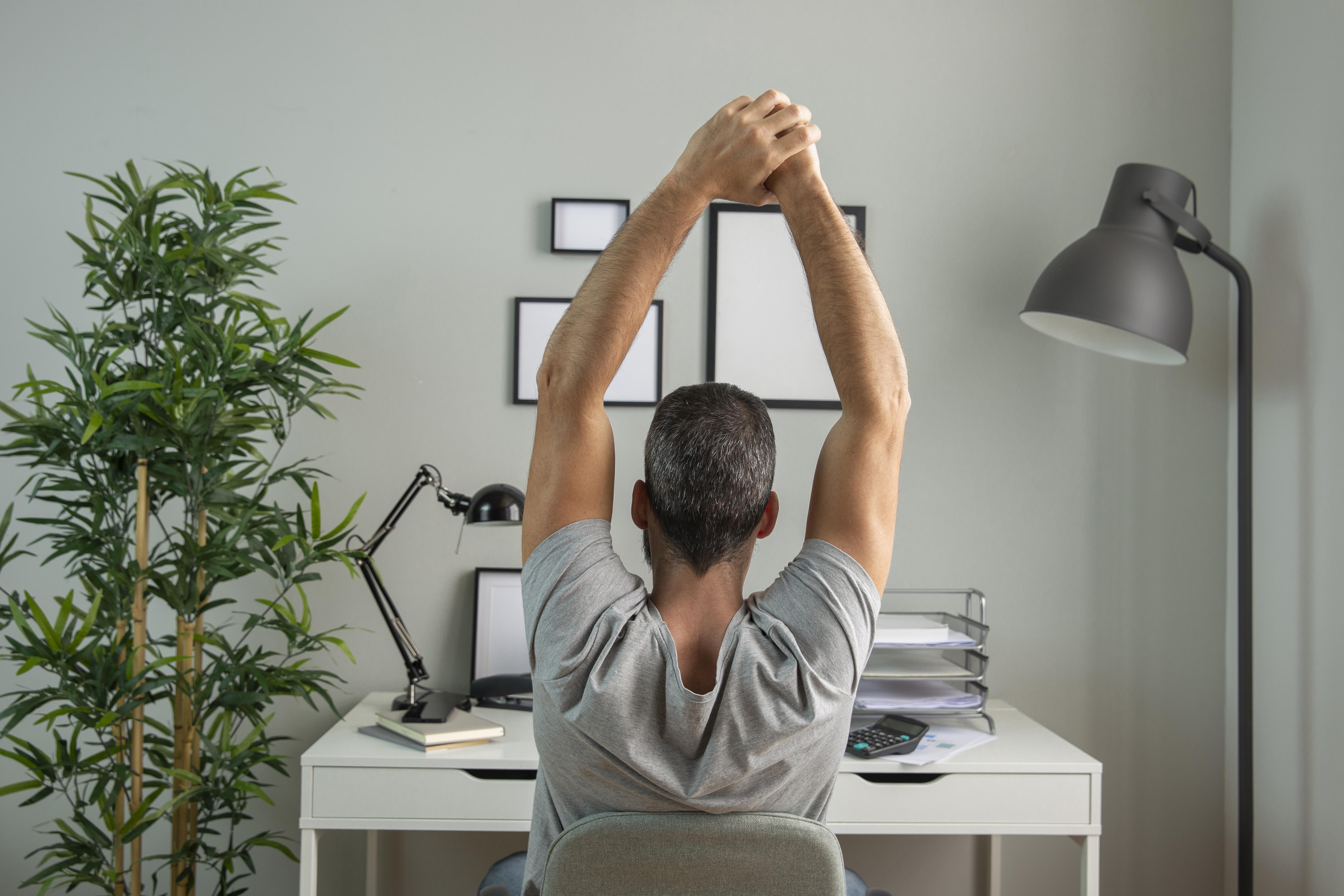 As 7 melhores dicas para evitar dores no corpo no Home office.  Confira as recomendações de postura, exercícios e mobiliário para evitar lesões e problemas de saúde