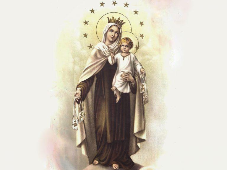 Reze e medite a novena de Nossa Senhora do Carmo