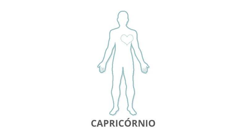 Onde fica o coração do Signo de Capricórnio